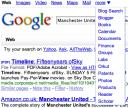 Google Search Menu
