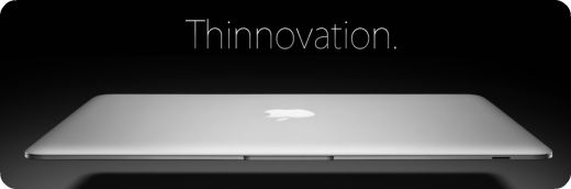 MacBook Air - Thinnovation