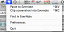 EverNote System Bar Tool
