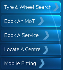 List of services at Kwik Fit
