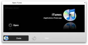 Launching iTunes through Quicksilver