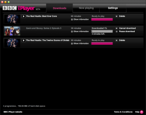 BBC iPlayer on OSX