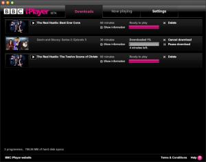 BBC iPlayer on OSX