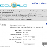 Verified By Visa Demonstration