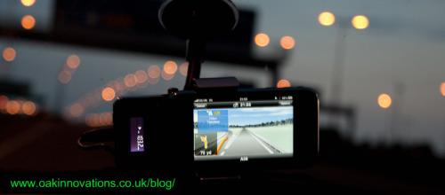 Navigon iPhone App in Use